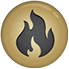 fire and smoke icon